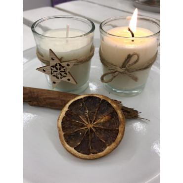 Vonná svíčka JABLEČNÝ ZÁVIN